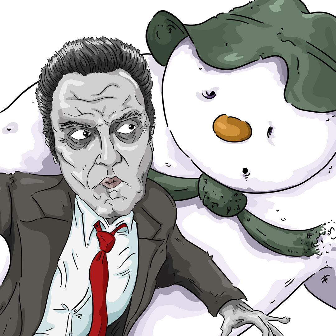 Christopher Walken and The Snowman